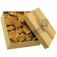 Gourmet Peanut Brittle Gift Box by It's Delish | Handmade Old-Fashioned Style...