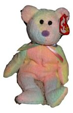 TY Groovy Bear  Beanie Baby Soft Pastel Colors Tie Dye PE Pellets 1999 TH