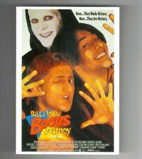 MOVIE film cinema postcard - BILL & TEDS Bogus Journey