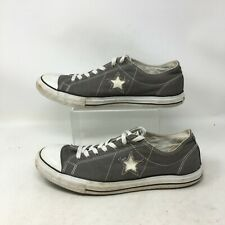 Converse One Star Low Skater Sneakers Casual Shoes Lace Up Canvas Grey Mens 12