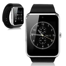 GT08 Bluetooth Smart Wrist Watch GSM Phone For Android IOS iPhone Smartphone Sil