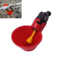 1/5/10x Poultry Water Drinking Cups Feeder Chicken Hen Bird Automatic Drinker