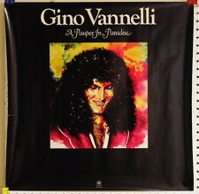 Gino Vannelli-Pauper In Paradise-Original 1977 A&M Promo Poster!