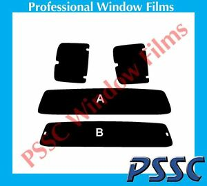 PSSC Pre Cut Rear Car Window Tint Films for TOYOTA HILUX Extra Cab 2005-2011