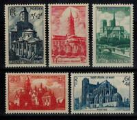 (b43) timbres France n° 772/776 neufs** année 1947