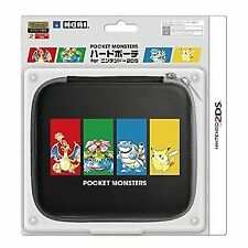 Hori Nintendo 2ds Pokemon Pocket Monsters Hard Pouch From Japan