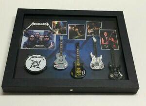 Metallica Shadow Box Wall Frame Brand New