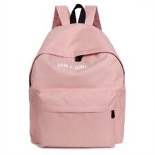 Womens Girls Canvas Shoulder Bag Backpack Rucksack Handbag Small School Bags nEW