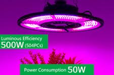 GROW LED 🌿 Lampada led per crescita piante indoor spettro completo 500W