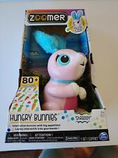 Zoomer Hungry Bunnies Shreddy Interactive Bunny - Pink