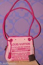 Louis Vuitton Rider Articles De Voyage '09 Cruise Shoulder Bag Fuchsia *Limited*