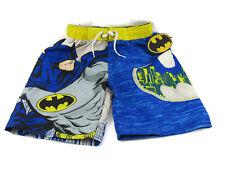 Dc Comics Batman Boys Swim Trunks Size 5/6 New