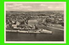 Koblenz a. Rhein - Moselmündung mit dem deutschen Eck - gel. 1938