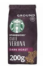 Starbucks Caffe Verona Blend Ground Coffee 200g Dark Roast FREE SHIPPING BARGIN