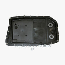 Transmission Oil Pan + Filter + Gasket + Drain Plug Automatic ZF For Jaguar XF
