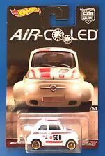 2017 Hot Wheels Car Culture AIR COOLED 1960 FIAT 500D MODIFICADO - mint on card!