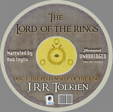 THE LORD OF THE RINGS - J.R.R. TOLKIEN - Unabridged MP3 CD - Rob Inglis - Hobbit