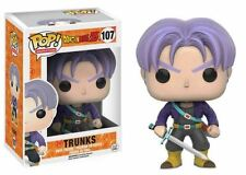 "DRAGON BALL Z  TRUNKS 3.75"" POP VINYL FIGURE FUNKO 107 UK SELLER"