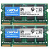 Crucial 4GB 2x2GB PC2-6400 DDR2-800Mhz RAM for Dell Latitude D530 531 D620 D630
