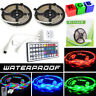 10M 3528 SMD RGB 600 LED Strip Light String Tape IP65 +44 Key IR Remote Control