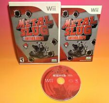 Metal Slug Anthology (Nintendo Wii, 2006) CIB Complete MINT Rare