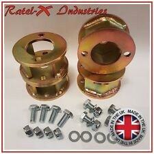 "Land Rover Defender 90 110 Discovery 1 50mm / 2"" inch lift Block Spacer Kit Qty4"