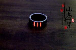 TC4 Original Titanium Alloy Self-luminous Tritium Tube EDC Finger Ring Pendants