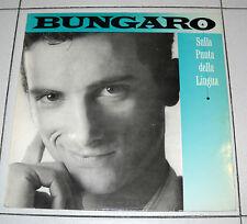 """Lp BUNGARO Sulla punta della lingua 33 giri 12"""" RCA 1 ed 1988"""