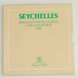 1982 Seychelles Brilliant Uncirculated Coin Collection - 6 Coin Set