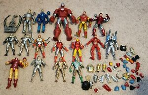 Marvel Legends Iron Man figures and others War Machine Lot Of 16 Figures READ