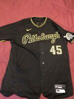 PITTSBURGH PIRATES JERSEY 2020 GAME WORN JERSEY DEREK HOLLAND