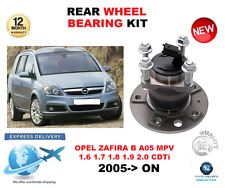 FOR OPEL ZAFIRA B REAR WHEEL BEARING KIT 2005->ON MPV LEFT or RIGHT HAND SIDE