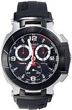 Tissot T-Race Black Dial Silicone Strap Men's Watch T0484172705700