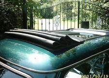 Classic mini british open new Black folding sunroof top cover & fit kit webasto