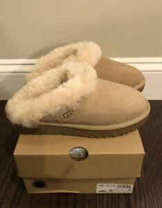 New UGG Women's Size 7 Cluggette Slippers SAN Sand