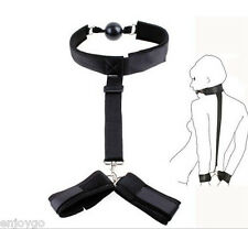 Sex-Adult-Fantasy-Sex-Toy-Bondage-SM-Bed-Restraints-Handcuffs-Fetish-Collar-Cuff