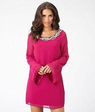 Lipsy Round Neck Long Sleeve Mini Dresses for Women