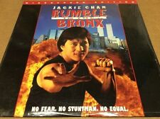 Rumble In The Bronx Laserdisc LD WS Japan Rare Red Bronx Jackie Chan BRAND NEW