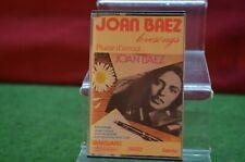 ** ANCIENNE K7 AUDIO CASSETTE JOAN BAEZ PAS CD DISQUE VINYLE
