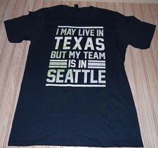 nwot SEATTLE seahawks NFL football SHIRT small S live in TEXAS houston DALLAS
