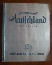 DAS SCHÖNE DEUTSCHLAND-SAMMELALBUM-170 IMAGES~HOMANN MARGARINEWERKE 1876-1951~
