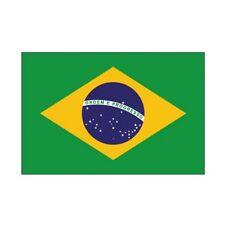 Autocollant Drapeau Brazil Brésil sticker 8 cm