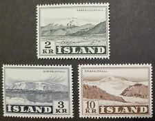 ISLAND-ISLANDIA STAMPS MNH - Mountains, 1951, **