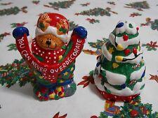 Lefton Christmas Salt & Pepper Shakers 1998 M Rupert