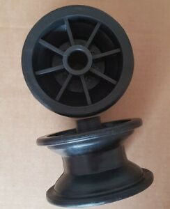 Large size Plastic Pulley Wheel x 2 Playground/Tree Den.