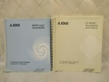Atari Logo Sourcebook and ST Basic Sourcebook and Tutorial Manuals