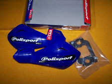 PROTEGES MAINS FREEFLOW LITE BLEU YAMAHA POLISPORT  +  FIXATIONS INCLUS