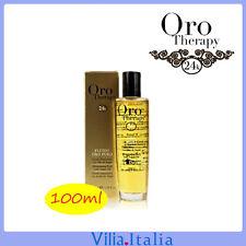 Olio di Argan per capelli illuminante 100ml Oro Therapy fanola