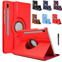 PU Leather Stand Folio 360° Case Cover for Samsung Galaxy Tab S6 10.5 T860 T865