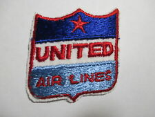 United Airlines Patch Nos Vintage,Original, 2 x 2 Inches
